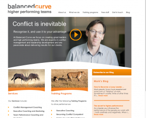 balanced curve site
